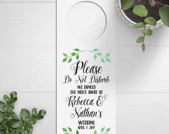 Wedding Door Hangers, Do Not Disturb Signs, Destination Wedding Favors, Wedding Welcome Bags, Welcome Box, Hotel Door Signs, Wedding Bag