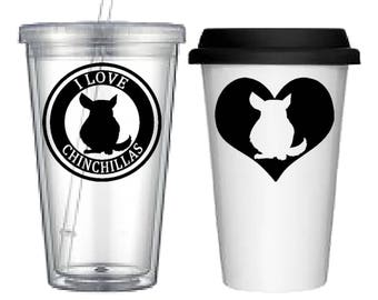 Cup:Chinchilla(4 designs to choose from!)
