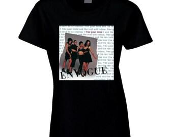 Original En Vogue Free Your Mind Concert Comeback Tshirt