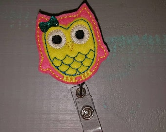 OWL retractable badge holder reel