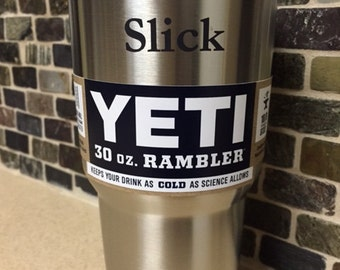 Yeti Tumbler 30 0z Rambler with FREE engraving (NEW American Flag or your choice of the 50 States logo... FREE!)