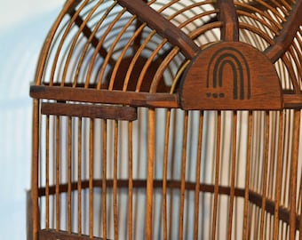 Decorative Bird Cage Wooden Bird Cage Birdhouse