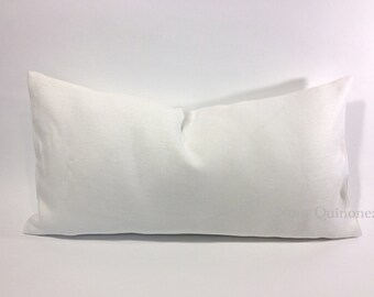 Decorative Bolster Pillow Cover- Medium Weight European Linen- Invisible Zipper Closure