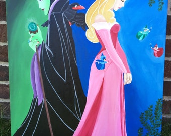 Disney Sleeping Beauty Painting