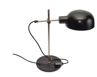 Modernist vintage desk lamp, 60s Dutch design