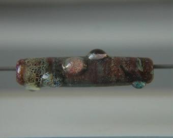 Lampwork Glass Elongated Focal