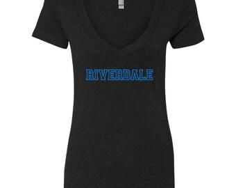 "Riverdale TV Show ""Logo"" V-Neck Shirt"