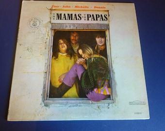 The Mamas & The Papas Vinyl Record D-50010 Gold Record Award Dunhill Records.
