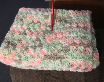Crochet baby afghan made to order