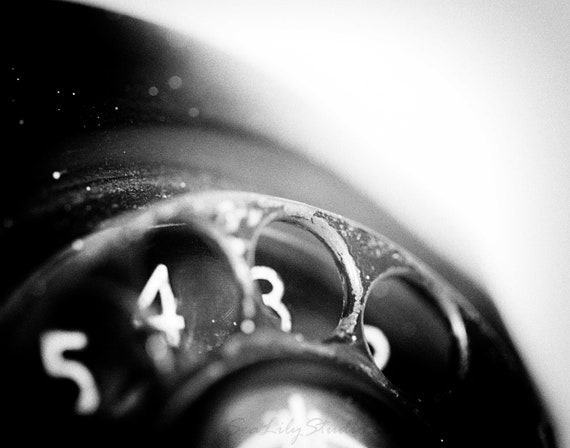 Call me surreal photo black and white macro photography