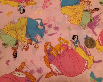 Disney Princesses Fabric