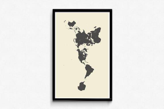 Dymaxion world map poster buckminster fuller geodesic gumiabroncs Images