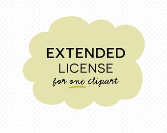 EXTENDED LICENSE for One Clipart