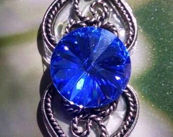 Bright Blue Crystal Bindi