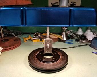 Chevrolet Vintage Valve Cover Lamp Desk Office Automotive