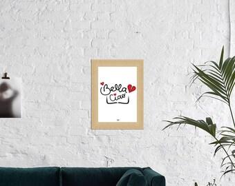 Bella Ciao :Affiche la casa de papel