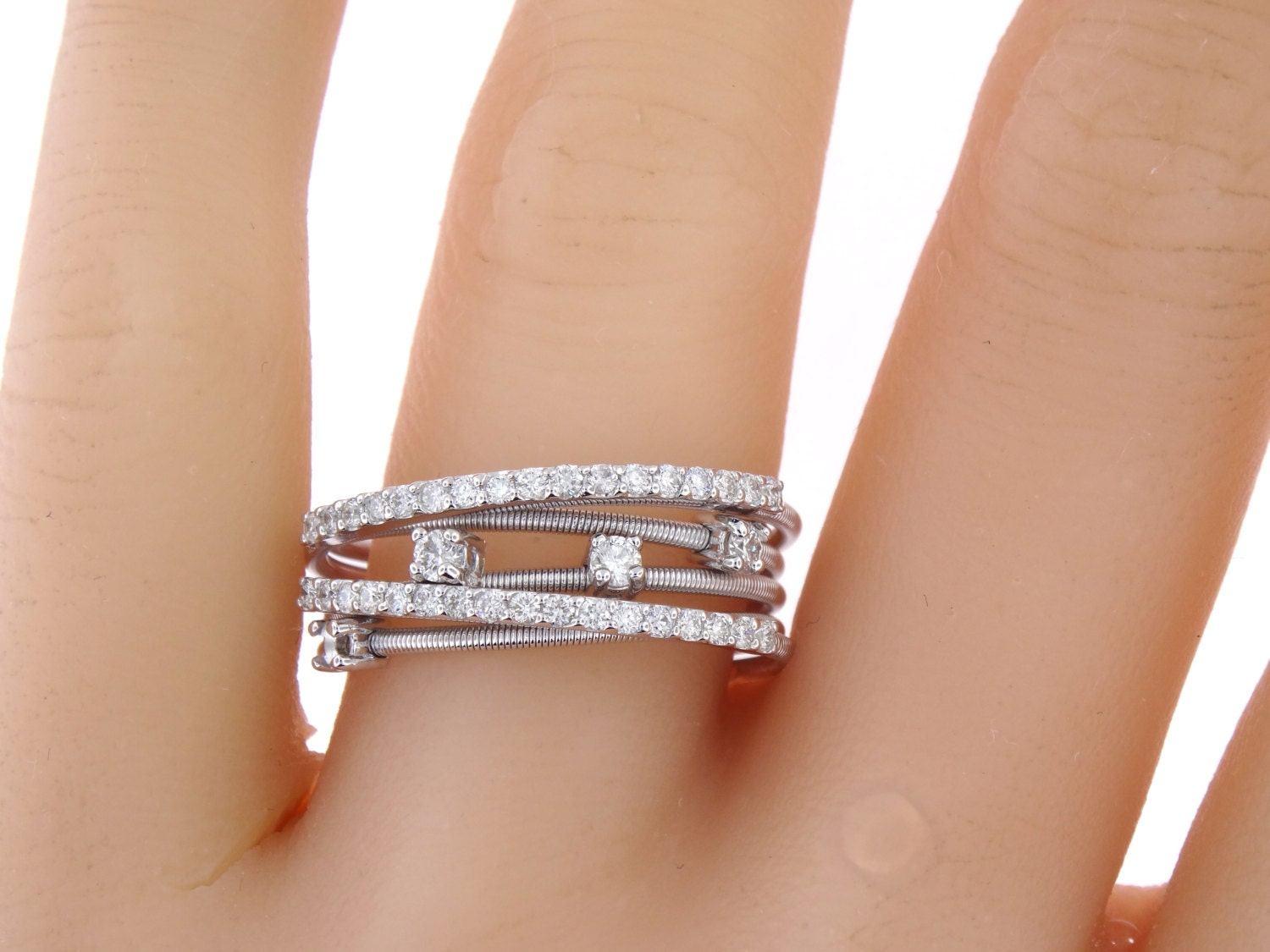 anniversary birthstone wedding diamond stacking bands or platinum infinity products april ring band