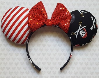 Pirate themed Mouse Ears