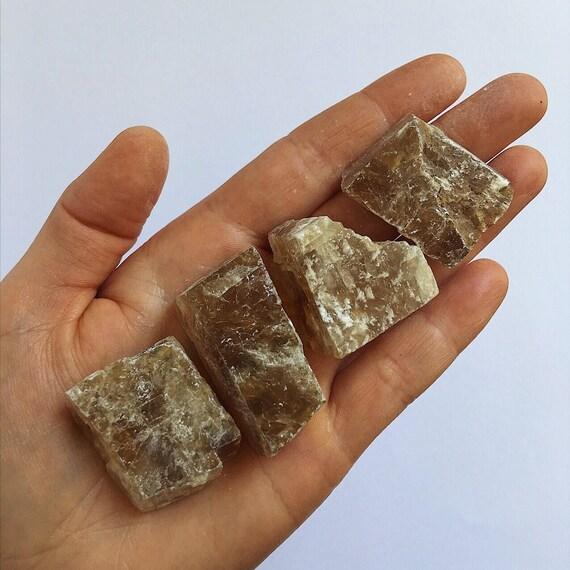 Golden Calcite raw piece