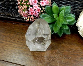 Crystal Quartz Polished Points- Crystal Quartz  - OOAK - (RK104B3-03)