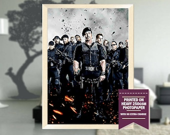 Expendables movie, fanart, the expendables, expendables poster, expendables print, best posters, cool art, Christmas gift