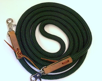 Yacht Rope Endurance Reins 7 foot to 10 foot U Pick Length & Color