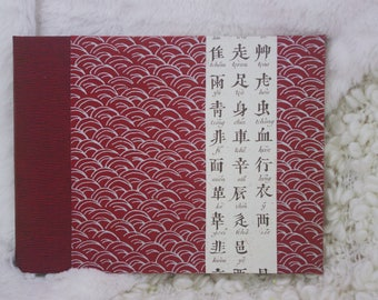 Photo album, red of China