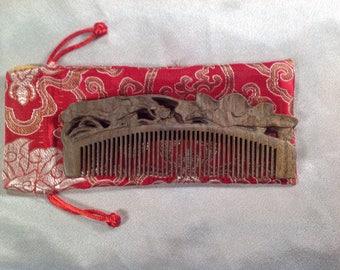 E0006- Wooden Comb