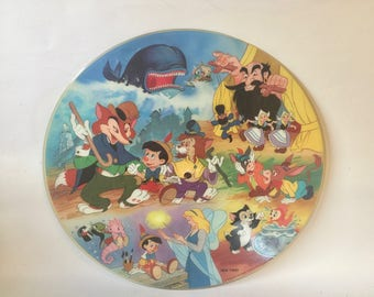 Vintage Pinocchio Picture Disc Album Record