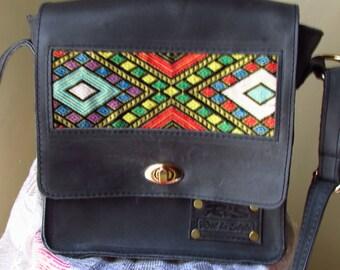 Gray leather messenger bag, leather messenger bag, women messenger bag, women side bag, leather side bag, pull up leather, messenger bag