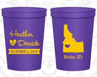 Idaho Wedding Cups, Idaho Stadium Cups, Idaho Plastic Cups, Idaho Cups, Idaho Party Cups (111)