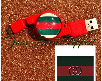 Gucci Android Retractable usb charger