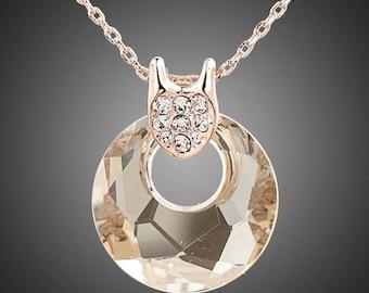 Round Link Chain Necklace