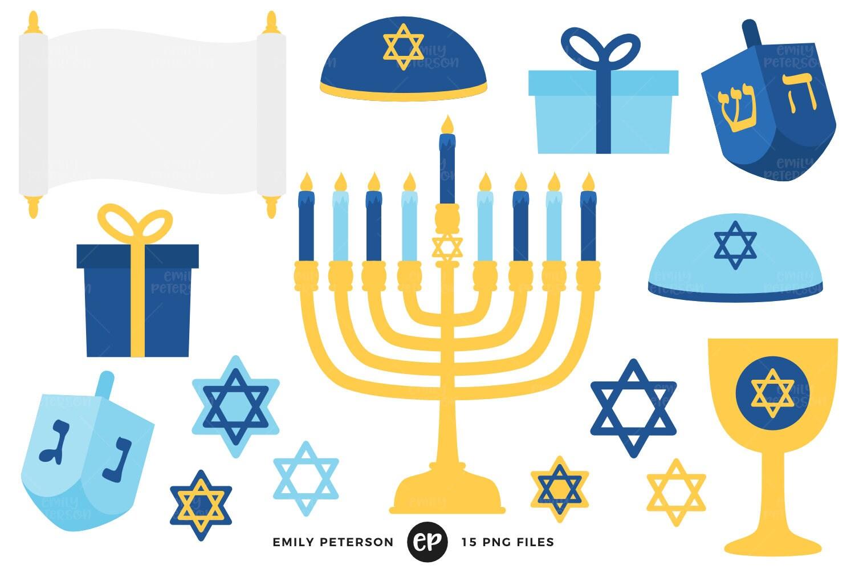 Hanukkah Clip Art Dreidel Clipart Menorah Clip Art