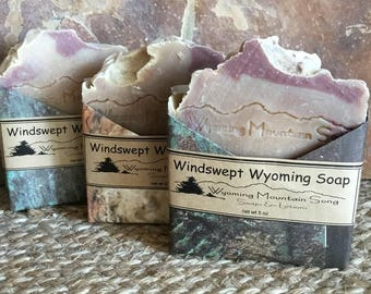 Windswept Wyoming Soap