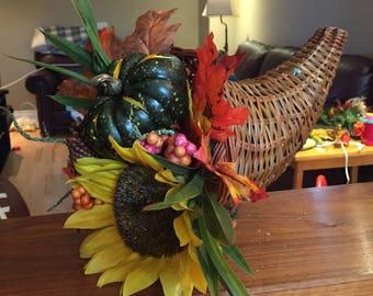 Fall Gourd Centerpiece