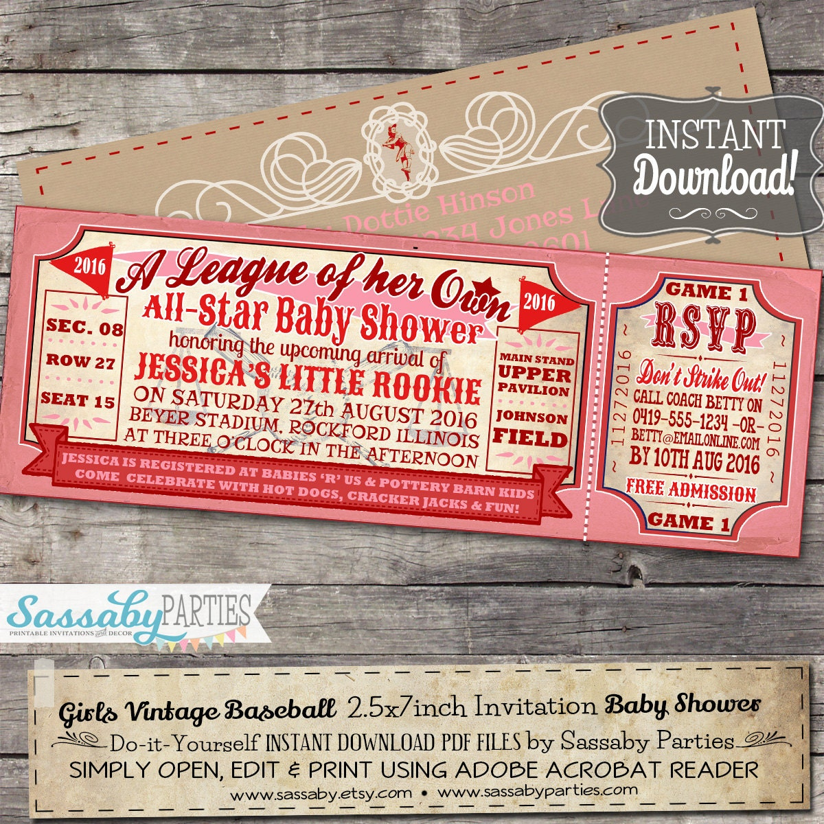 Colorful Fun Baby Shower Invitations Motif - Invitations and ...