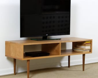 Mid Century Modern Media Console, MCM TV Cabinet, Stereo Cabinet