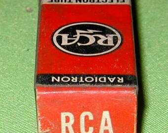 RCA 6BY6 Vacuum Tube NOS
