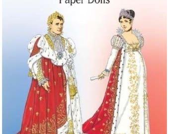 Napoleon and Josephine Paper dolls