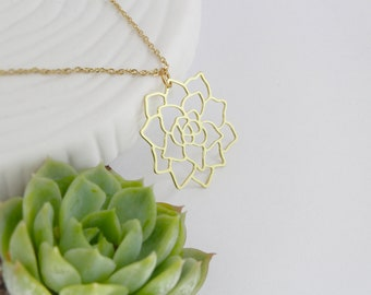 Succulent Necklace | ATL-N-192