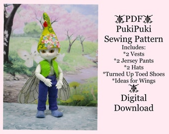 PDF Sewing Pattern for PukiPuki Faerie Outfit