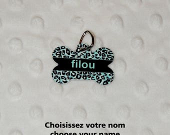 Pet Dog Tags, Trickster, medal Dog Medal for identification, customizable, personalized, name