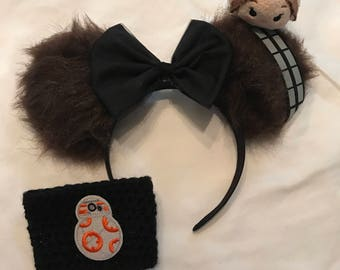 Wookie Minnie Mouse Ears