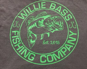 Willie Bass Fishing Shirts