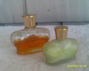 Two Vintage Perfume Bottles, Prince Matchabelli Wind Song
