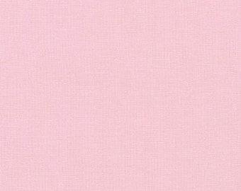 Robert Kaufman Essex Blossom   Essex Collection   Solid Pink   Linen and Cotton Blend   SKU: E014-1026