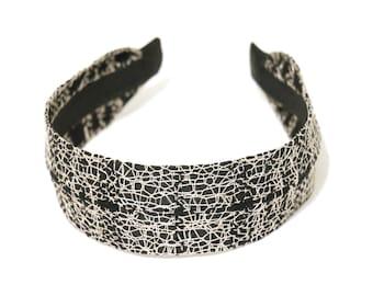 Chanel fabric headbands, wide headbands, headbands for women, comfortable headbands