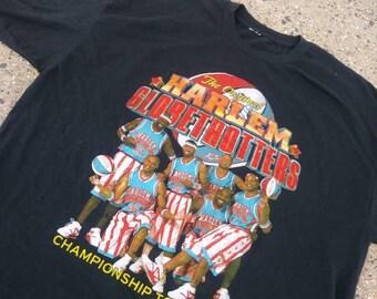 Harlem Globetrotters 2012 Championship Tour t-shirt mens large