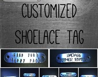 Custom Shoelace/Shoe Tag